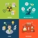 Chemistry Flat Set - GraphicRiver Item for Sale