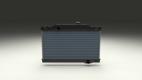 3DOcean Car Radiator 10058046