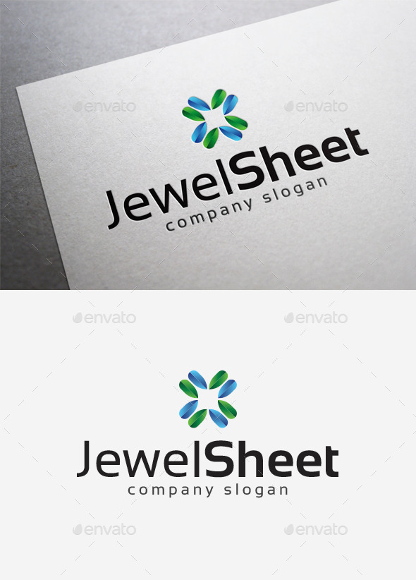 GraphicRiver Jewel Sheet Logo 10058051
