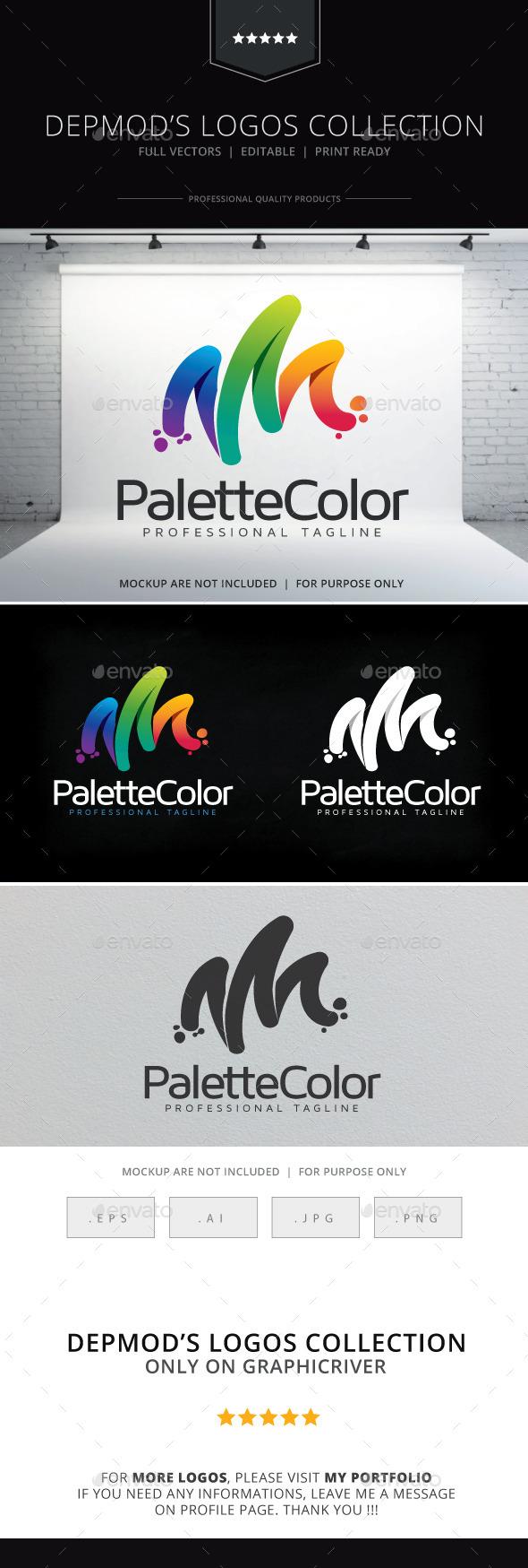 Palette Color Logo