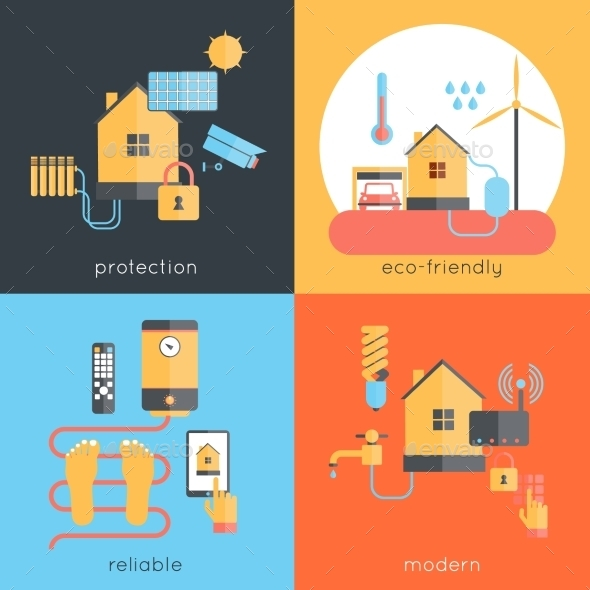 GraphicRiver Smart Home 10058143