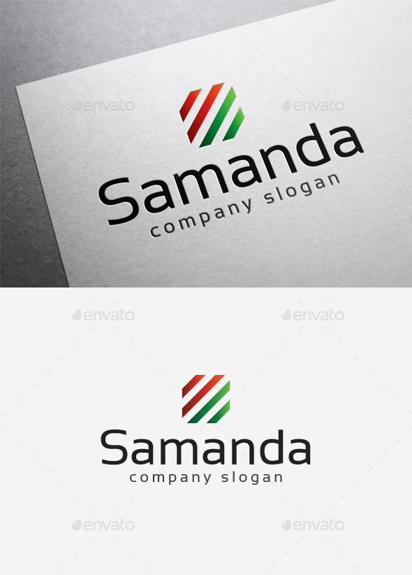 GraphicRiver Samanda Logo 10058265