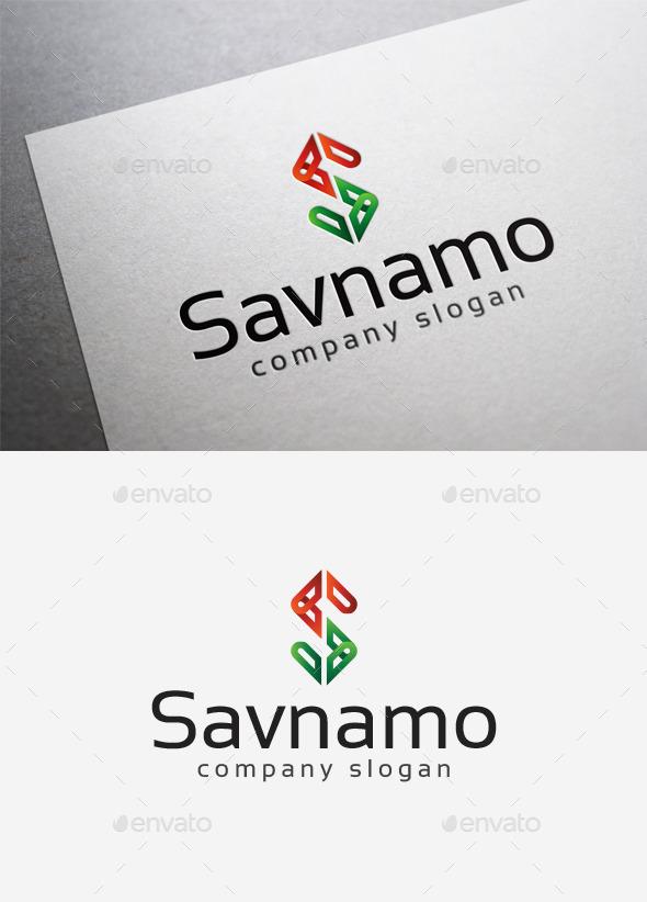 GraphicRiver Savnamo Logo 10058315
