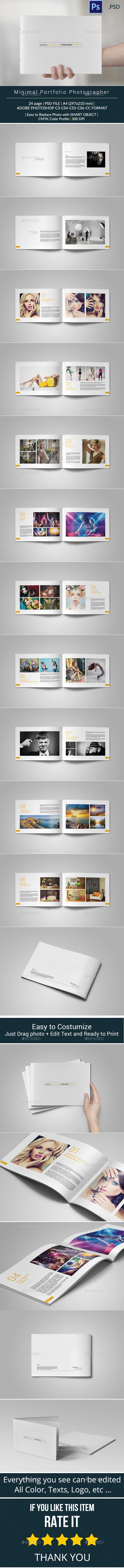 GraphicRiver Minimal Portfolio 10058402