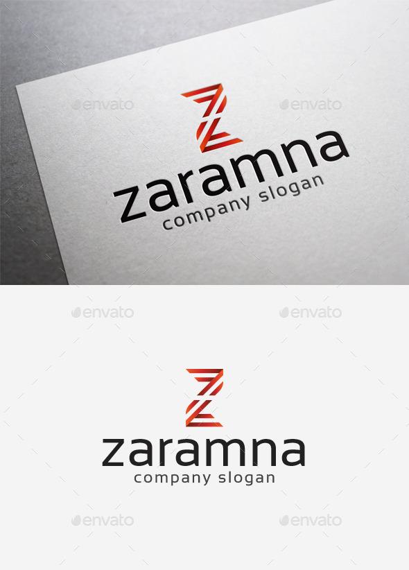 GraphicRiver Zaramna Logo 10058458