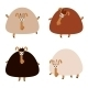 Collection of Sheep - GraphicRiver Item for Sale