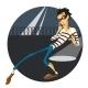 Escaping Thief - GraphicRiver Item for Sale