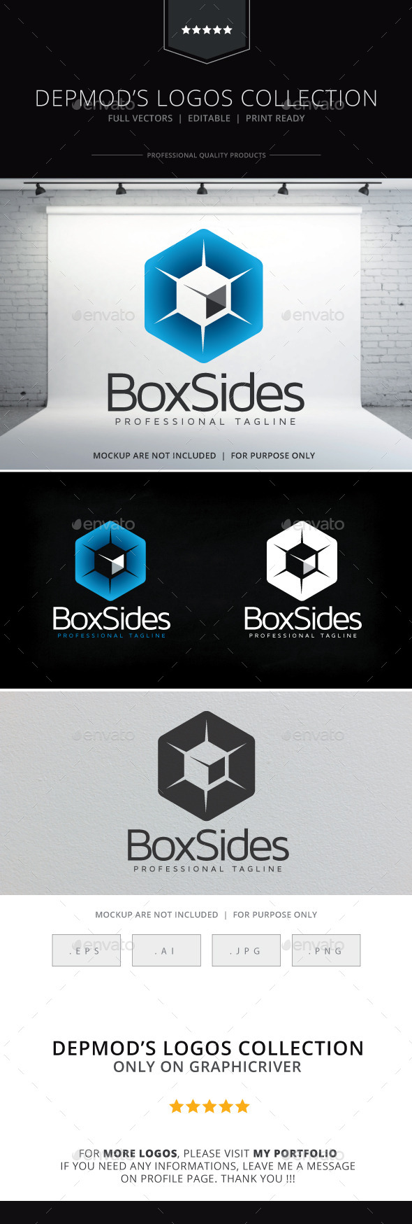 GraphicRiver Box Sides Logo 10058973
