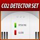 Carbon Monoxide Detector Image Set