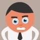 Angry Businessman - GraphicRiver Item for Sale