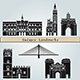 Badajoz Landmarks and Monuments - GraphicRiver Item for Sale