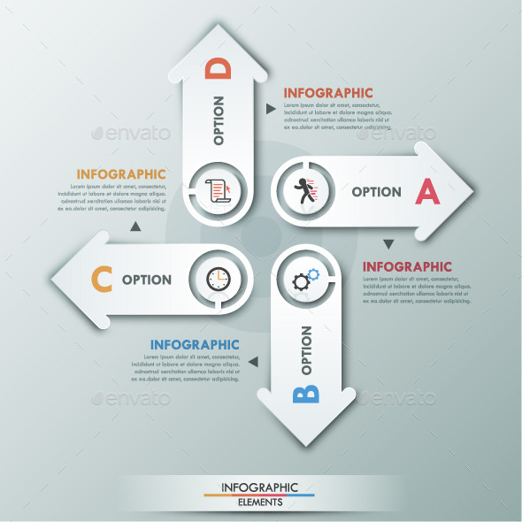 GraphicRiver Modern Infographic Paper Options Template 10059613