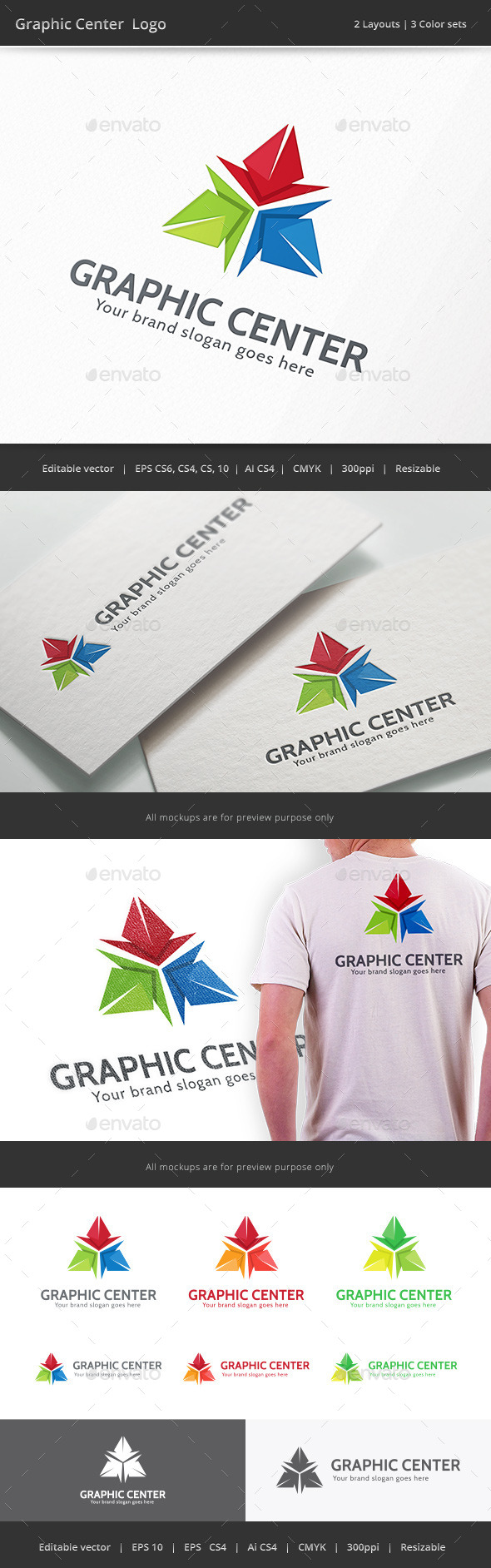 GraphicRiver Graphic Center 10059732