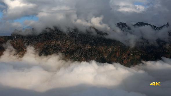 Magnificent Landscape Above the Clouds 16