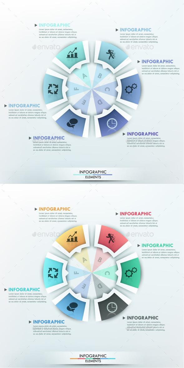 GraphicRiver Moderne Infographic Options Circle Template 10059983