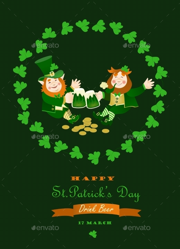 St Partick Day Greeting Card
