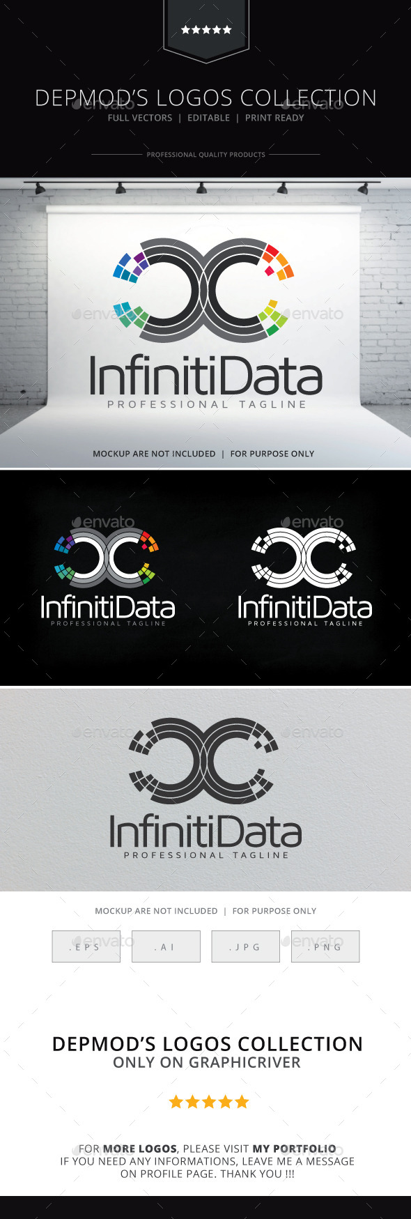 GraphicRiver Infiniti Data Logo 10060005