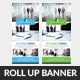 Corporate Business Rollup Banners - GraphicRiver Item for Sale