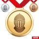 Gold Medal - GraphicRiver Item for Sale