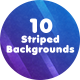 10 Striped Backgrounds - GraphicRiver Item for Sale