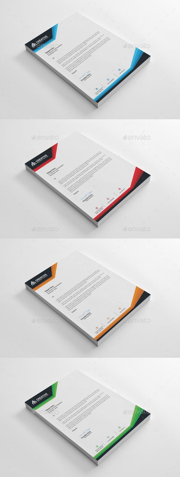 GraphicRiver Letterhead 10060229