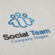 Social Team Logo - GraphicRiver Item for Sale