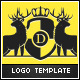 Deer Club Logo Template - GraphicRiver Item for Sale