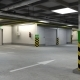 Underground Parking Garage 01 - 3DOcean Item for Sale
