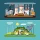 Set of Flat Ecology Concept Illustrations - GraphicRiver Item for Sale