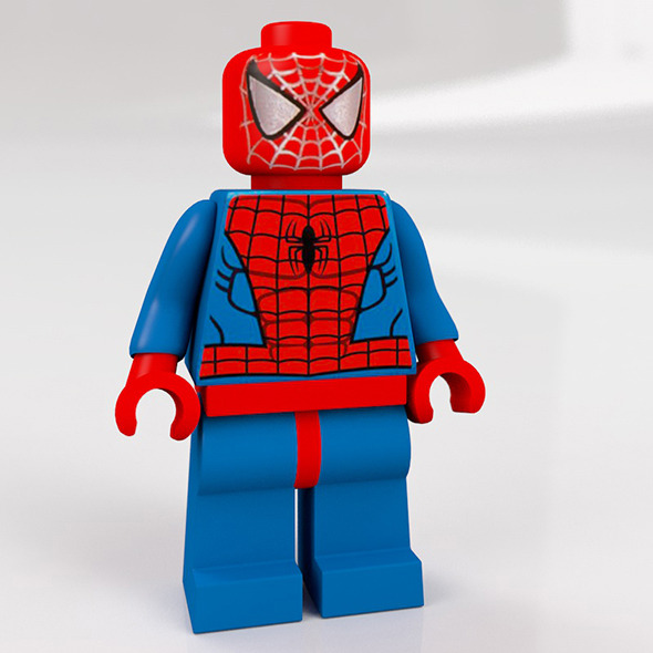 3DOcean Lego spiderman 10060650