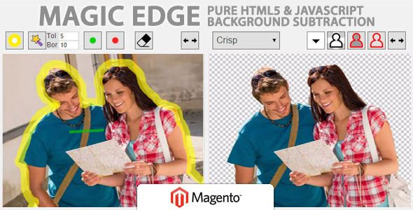 CodeCanyon Magic Edge Image Background Remover for Magento 10060737