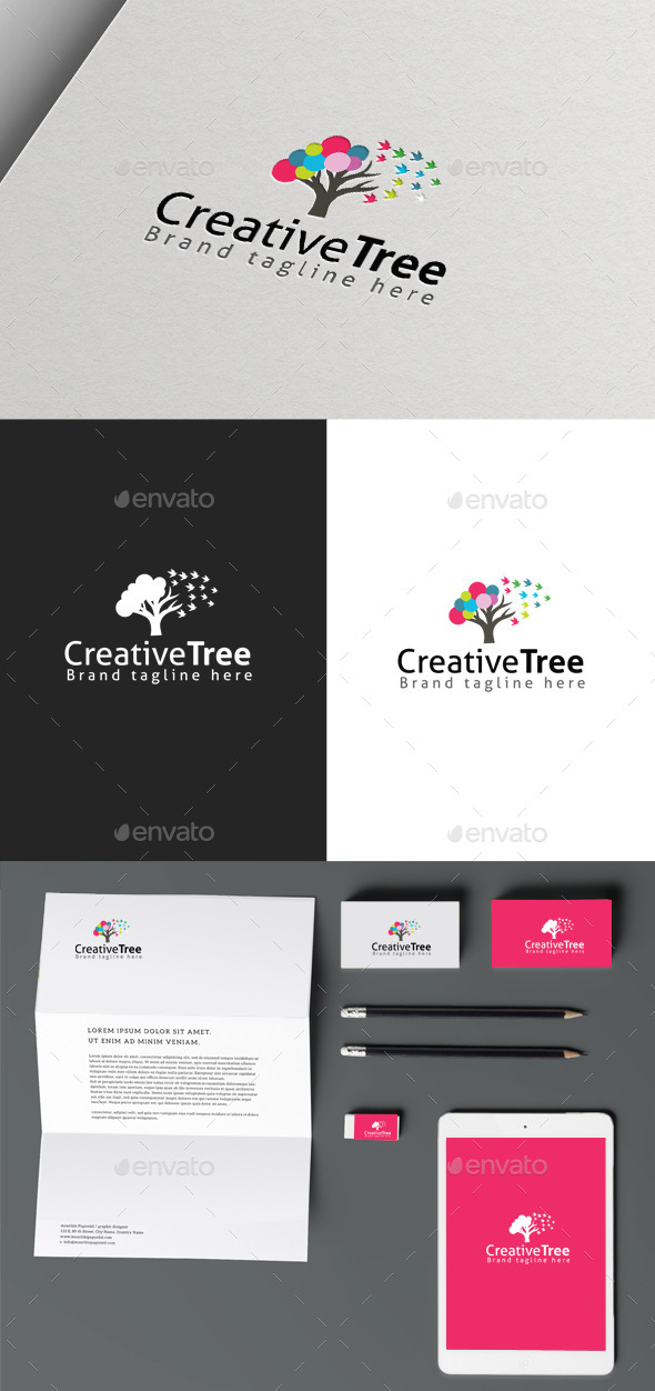 GraphicRiver Creative Tree 10061077