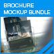 Brochure Mock-up Bundle - GraphicRiver Item for Sale