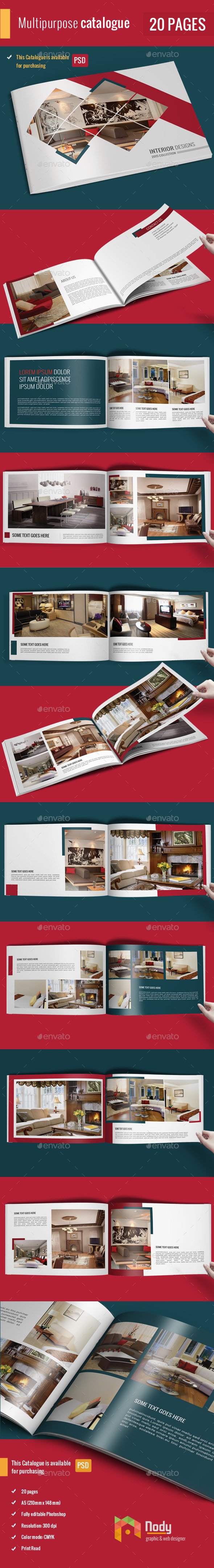 Simple Catalog Portfolio Brochure