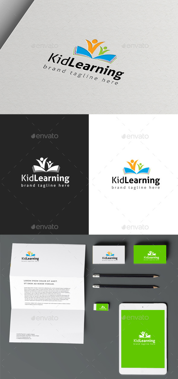 GraphicRiver Kids Learning 10061683