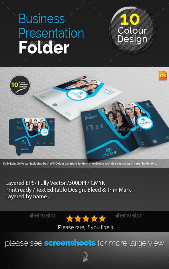 GraphicRiver Corporate Presentation Folder 10061838