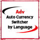Adv Opencart Auto Currency Switcher by Language