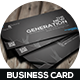 Abstract Creative Business Card - GraphicRiver Item for Sale