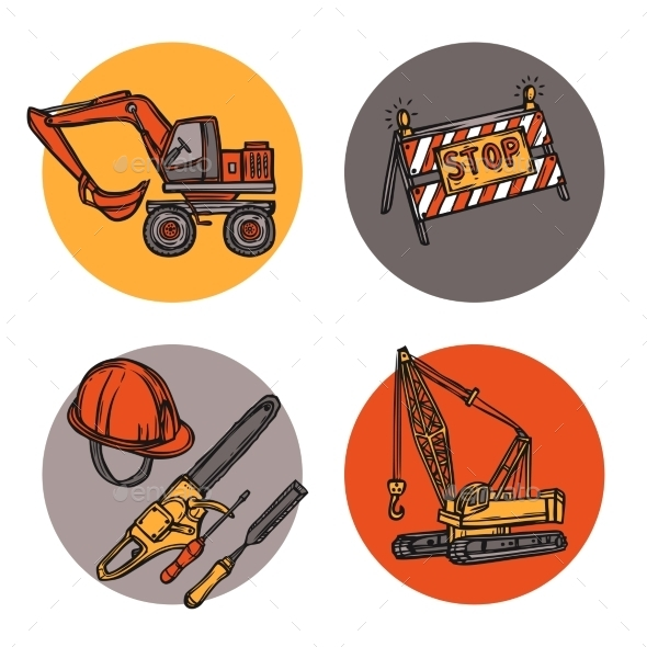 GraphicRiver Construction Symbols 10062329
