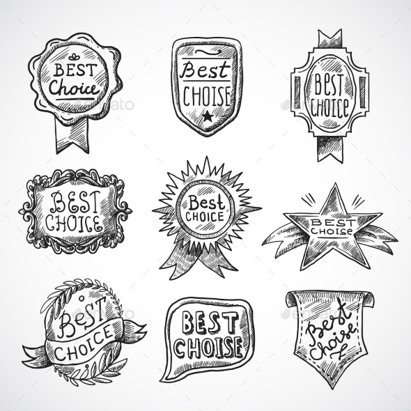 GraphicRiver Best Choice Badge 10062371