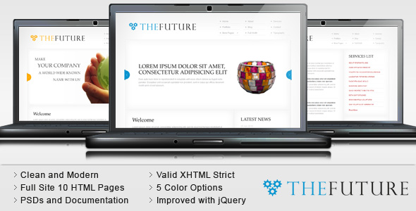TheFuture - Clean Corporate HTML Template
