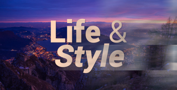 Life and Style Simple Slideshow
