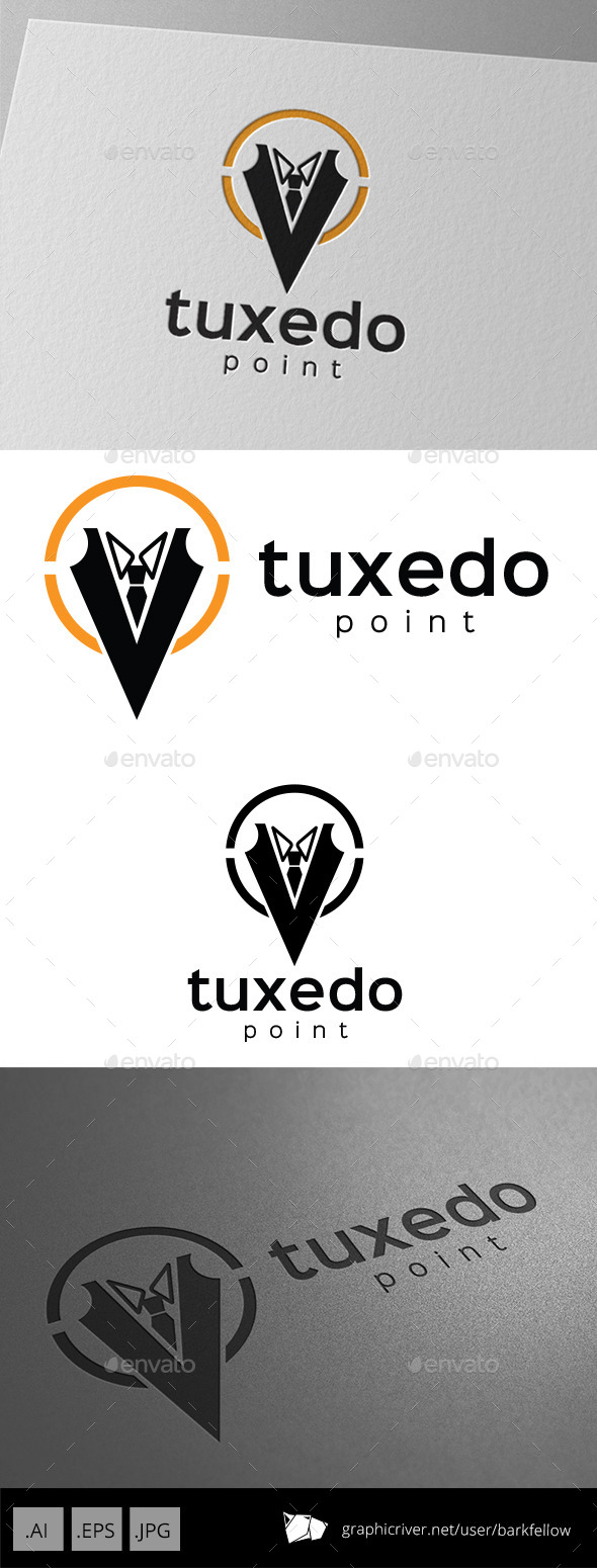 GraphicRiver Tuxedo Point Logo 10063275