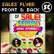 Sales Promotion Flyer - GraphicRiver Item for Sale