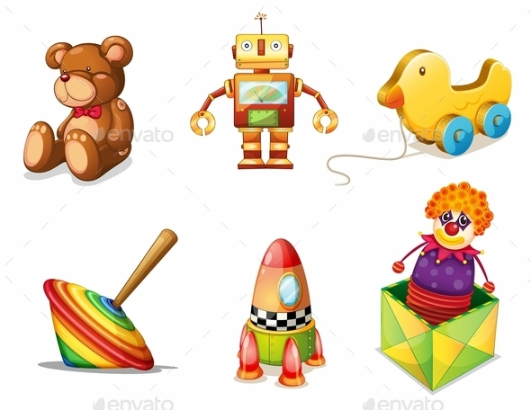 GraphicRiver Various Toys 10063599