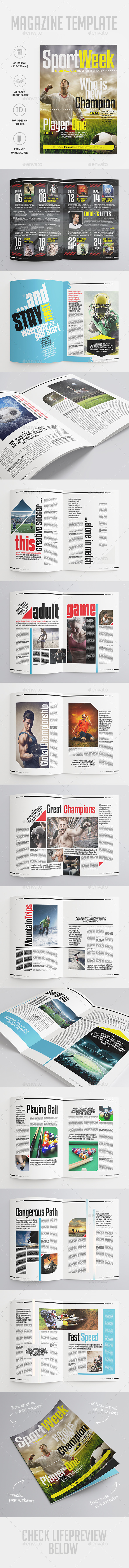GraphicRiver Sport Magazine 10063768