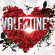 Valentine's Love Flyer - GraphicRiver Item for Sale