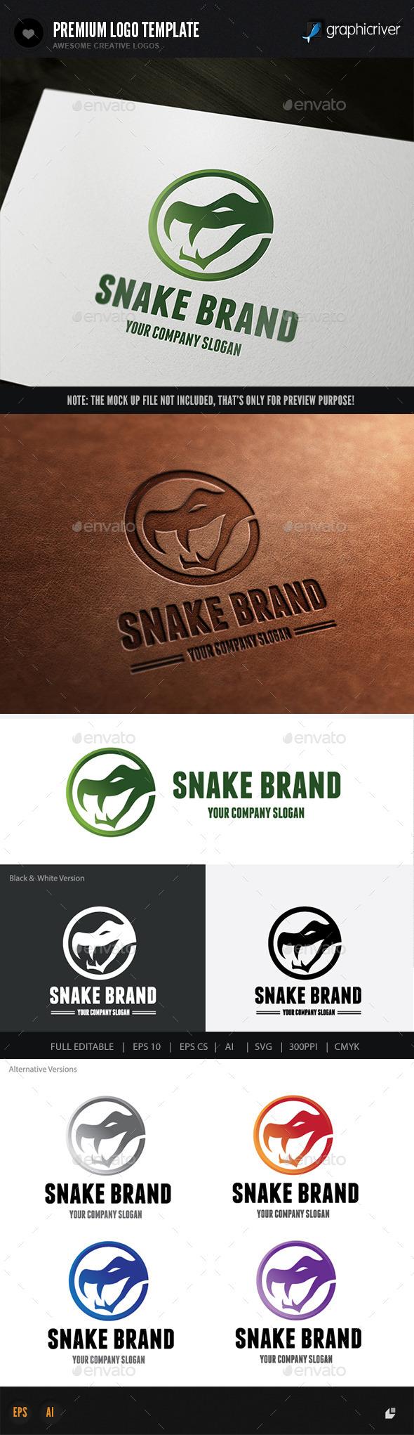 GraphicRiver Snake Brand 10063904