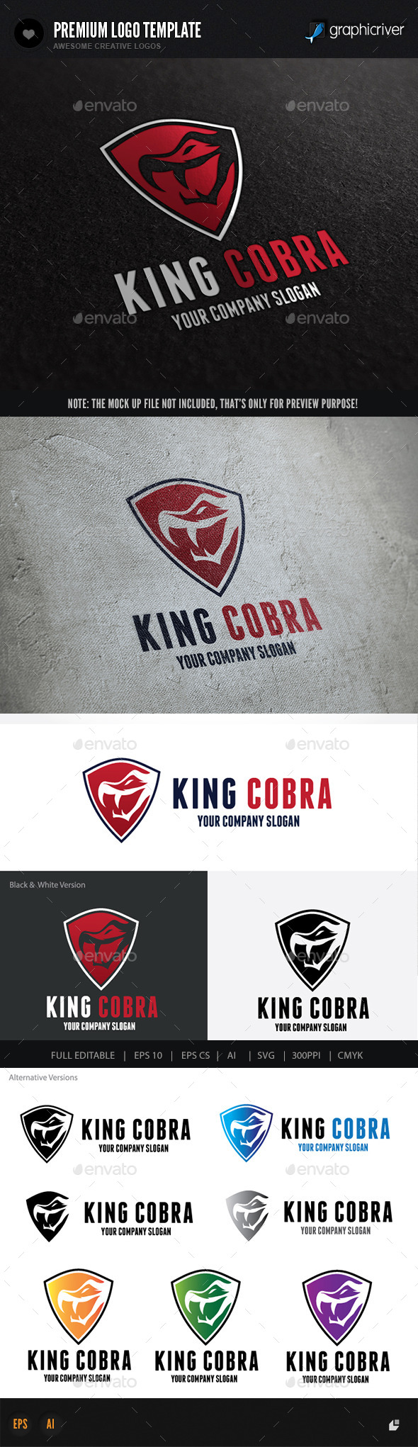 GraphicRiver King Cobra 10063907