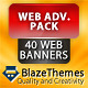 Web Advertisement Pack - 40 Elegant Banners - GraphicRiver Item for Sale